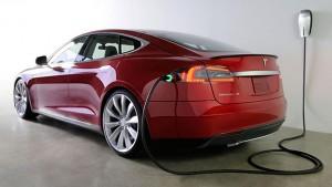 Tesla Model S elektromobilis