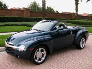 Chevrolet SSR kabrioletas